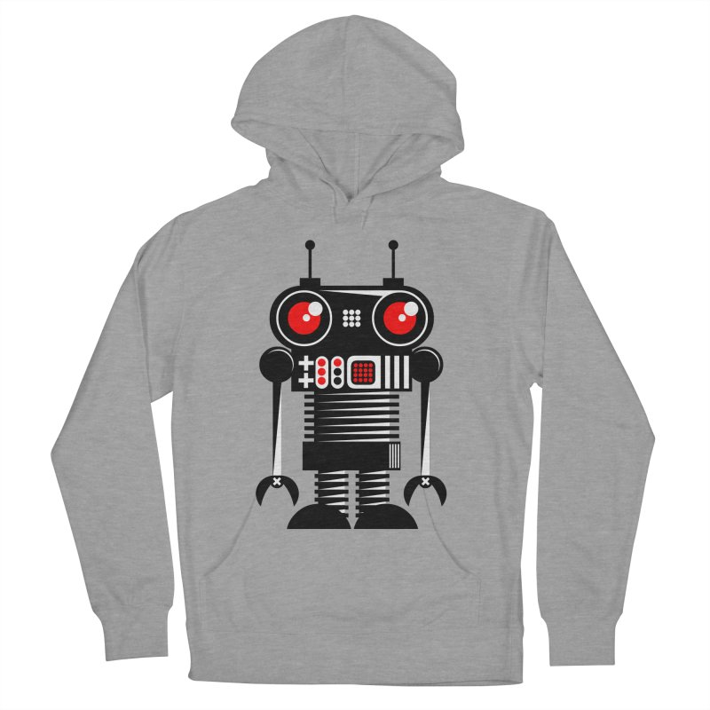 Robot 001 Women's Pullover Hoody by SavageMonsters's Artist Shop