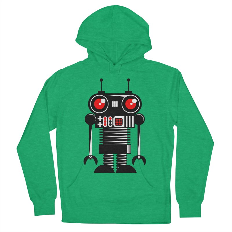 Robot 001 Men's Pullover Hoody by SavageMonsters's Artist Shop