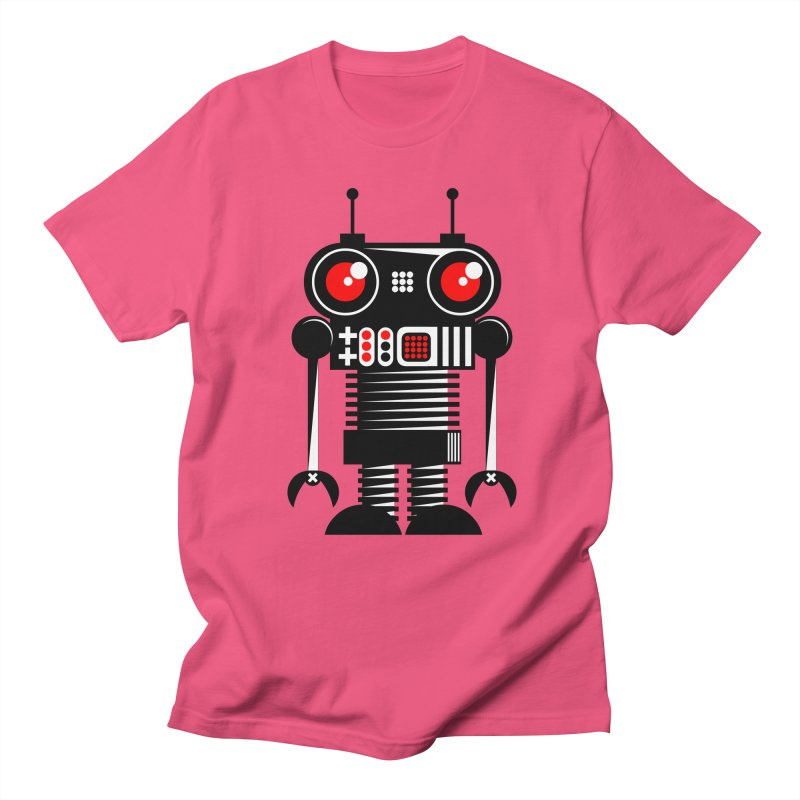 Robot 001 Men's T-Shirt by SavageMonsters's Artist Shop