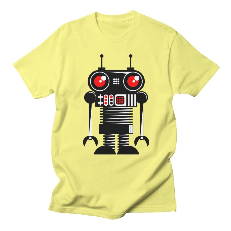 Robot 001 Men's T-shirt by SavageMonsters's Artist Shop
