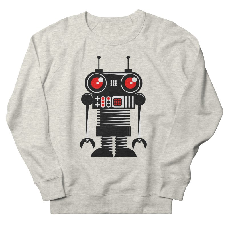 Robot 001 Men's Sweatshirt by SavageMonsters's Artist Shop