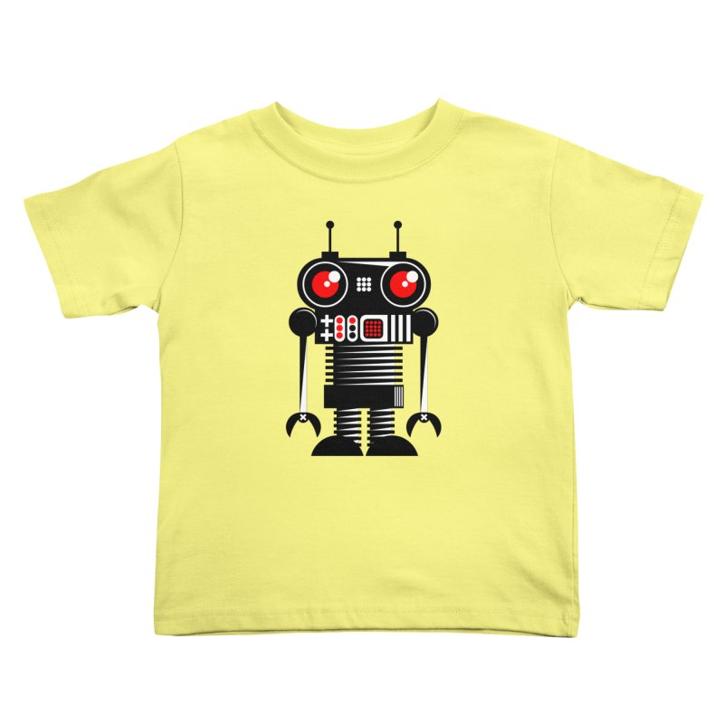 Robot 001 Kids Toddler T-Shirt by SavageMonsters's Artist Shop