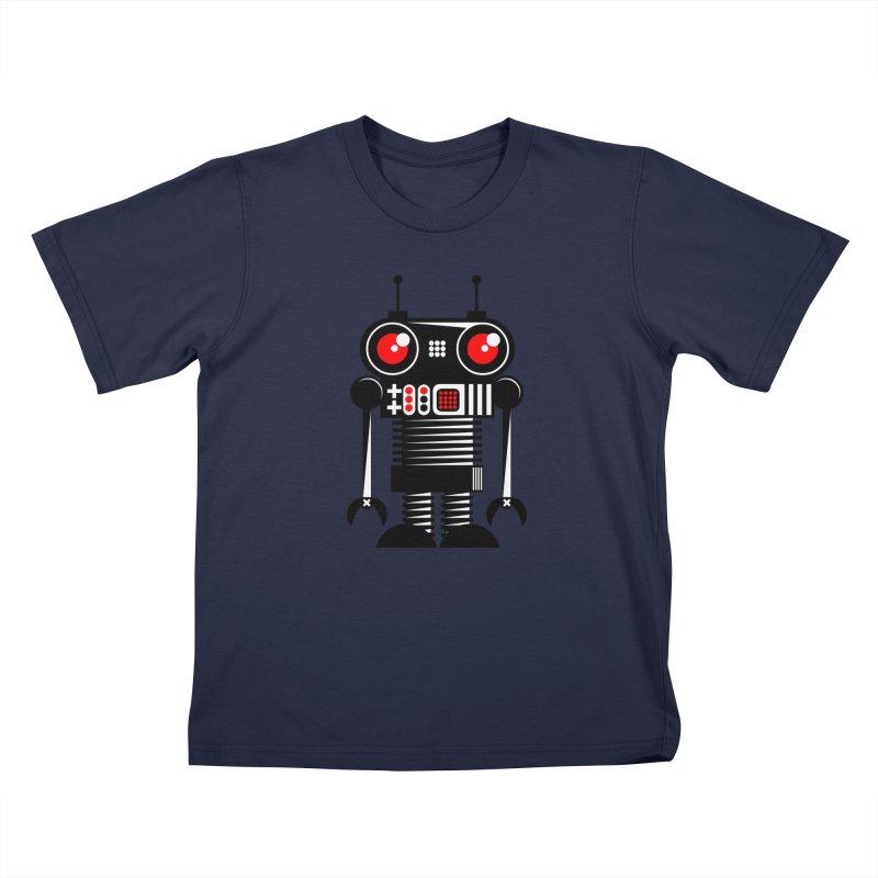 Robot 001 Kids Toddler T-Shirt by SavageMonsters's Artist Shop
