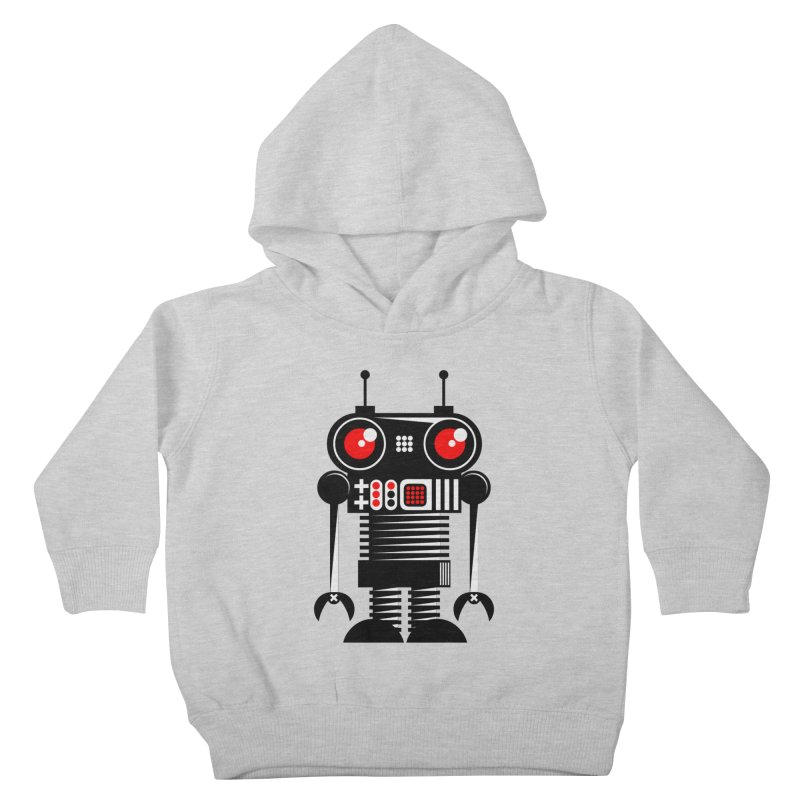 Robot 001 Kids Toddler Pullover Hoody by SavageMonsters's Artist Shop
