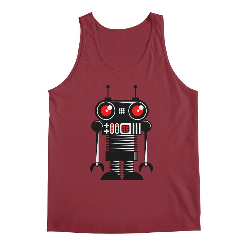 Robot 001 Men's Tank by SavageMonsters's Artist Shop