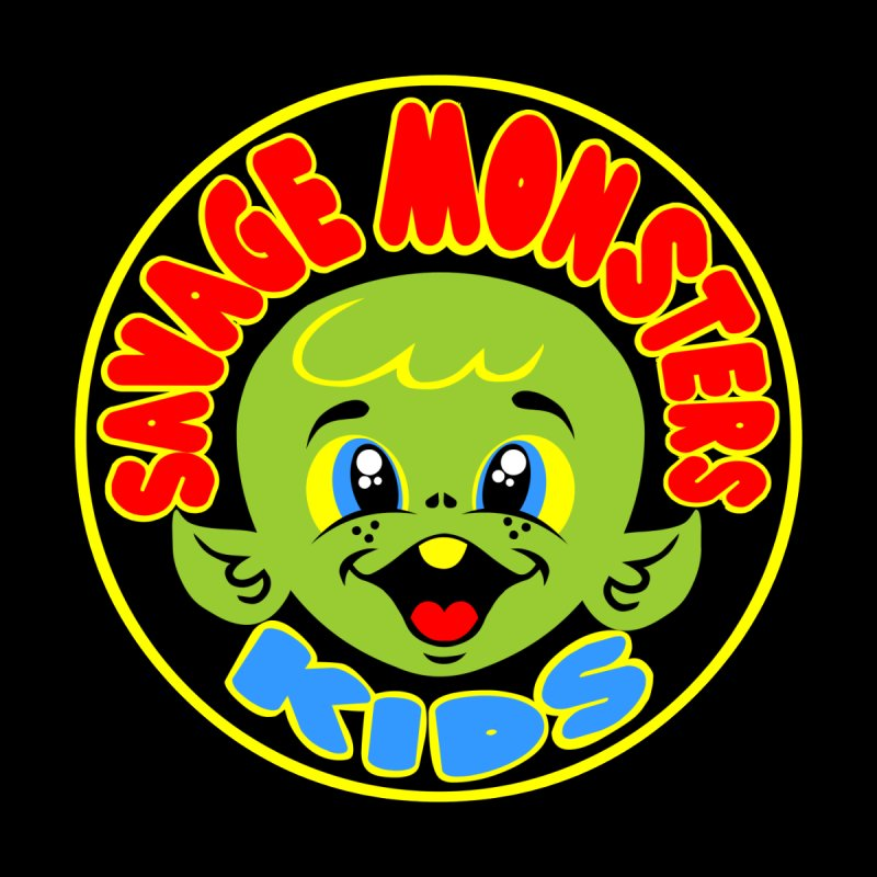 Savage Monsters Kids Logo by SavageMonsters's Artist Shop