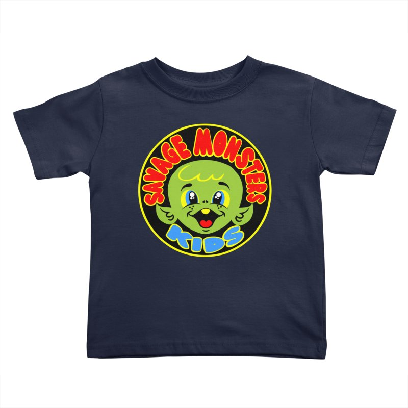 Savage Monsters Kids Logo Kids Toddler T-Shirt by SavageMonsters's Artist Shop