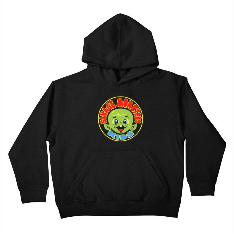 Savage Monsters Kids Logo   by SavageMonsters's Artist Shop