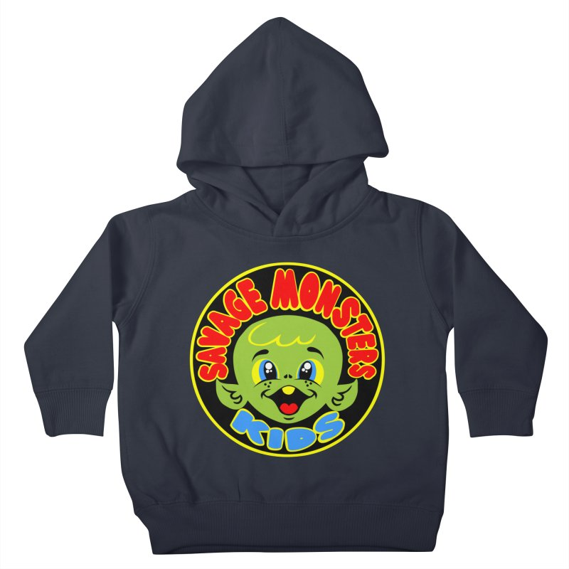 Savage Monsters Kids Logo Kids Toddler Pullover Hoody by SavageMonsters's Artist Shop