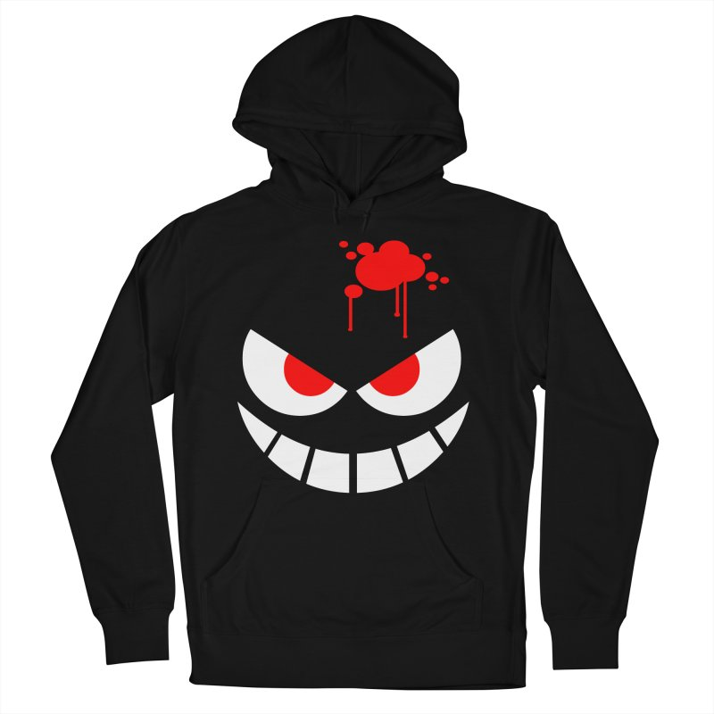 Bloody Grin Women's French Terry Pullover Hoody by SavageMonsters's Artist Shop