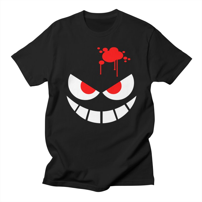 Bloody Grin Men's T-shirt by SavageMonsters's Artist Shop