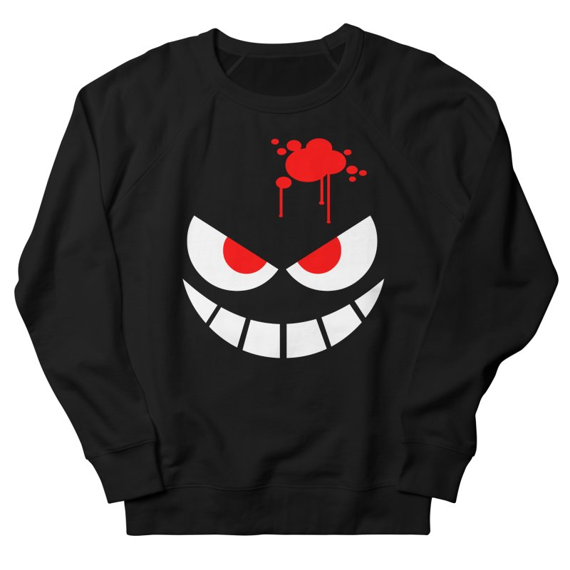 Bloody Grin Men's Sweatshirt by SavageMonsters's Artist Shop