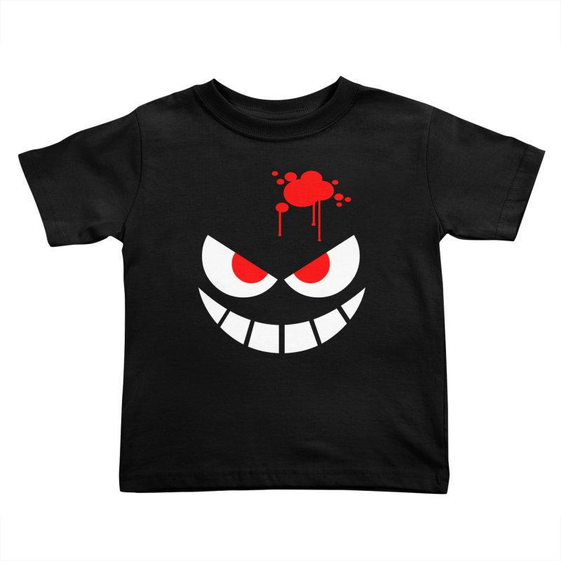 Bloody Grin Kids Toddler T-Shirt by SavageMonsters's Artist Shop