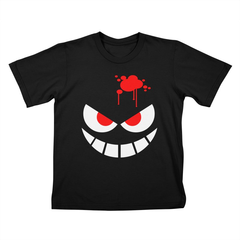 Bloody Grin Kids T-shirt by SavageMonsters's Artist Shop
