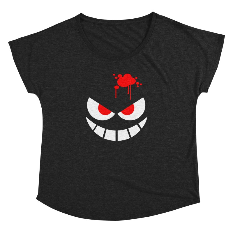 Bloody Grin Women's Dolman by SavageMonsters's Artist Shop