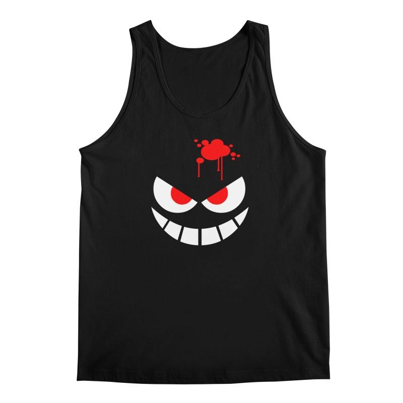 Bloody Grin Men's Tank by SavageMonsters's Artist Shop
