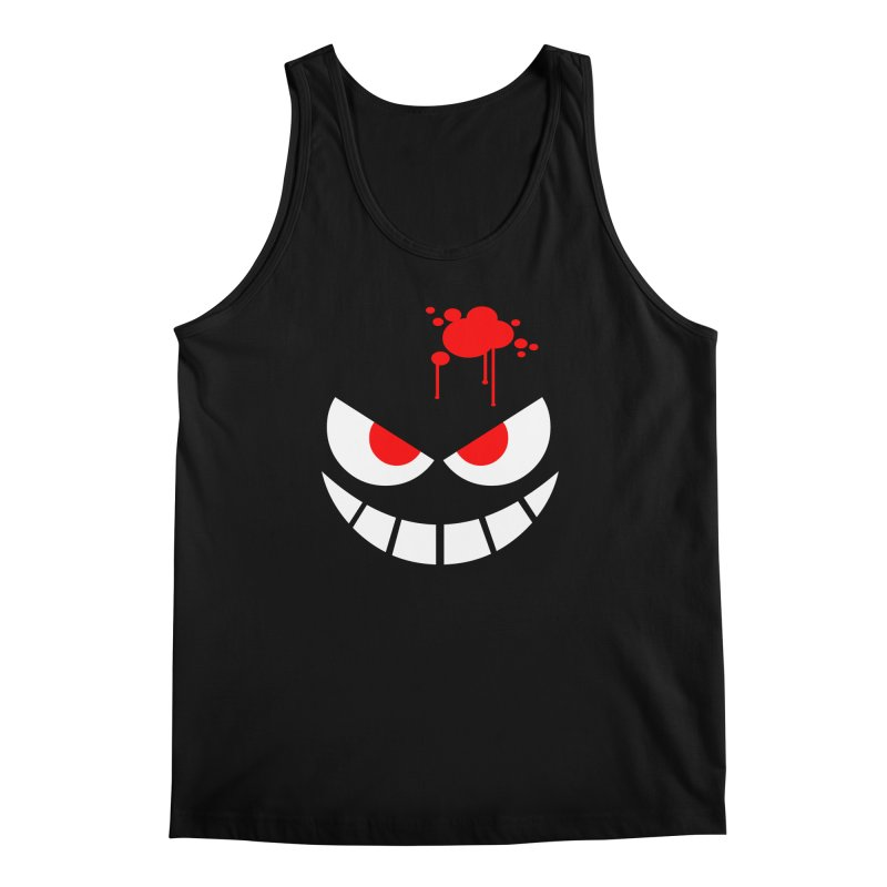 Bloody Grin Men's Tank by SavageMonsters's Artist Shop