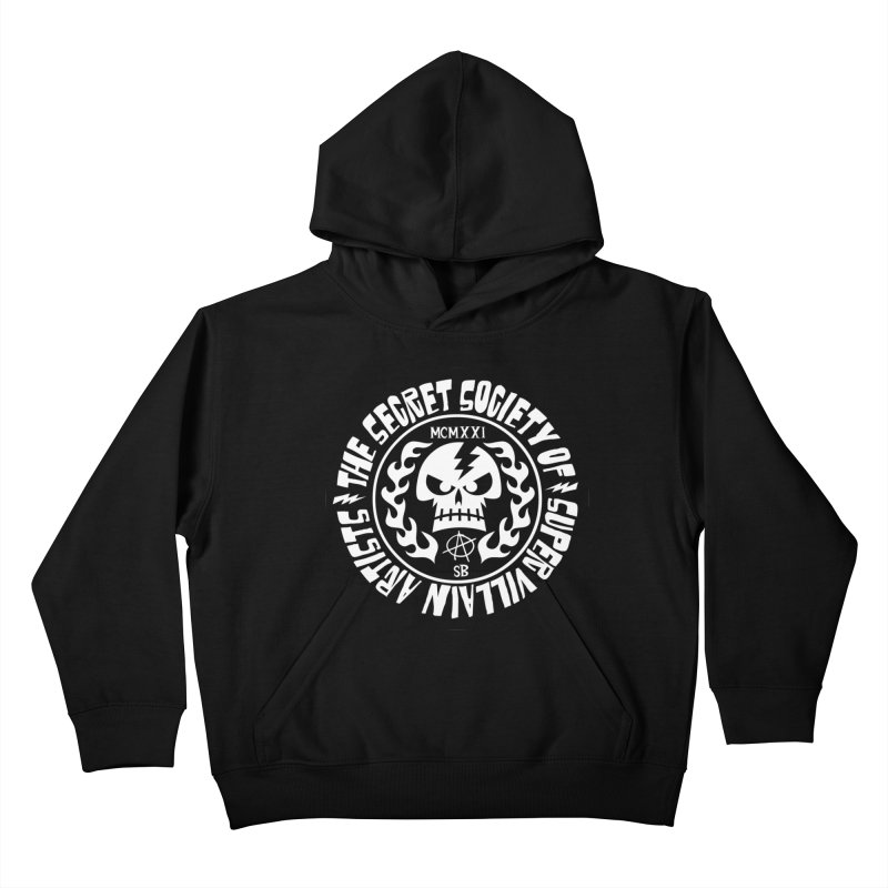 Savage SSOSVA Kids Pullover Hoody by SavageMonsters's Artist Shop