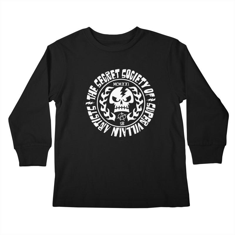 Savage SSOSVA Kids Longsleeve T-Shirt by SavageMonsters's Artist Shop