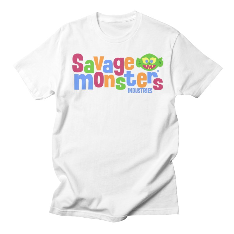 Savage Monsters Fun Logo Women's Regular Unisex T-Shirt by SavageMonsters's Artist Shop