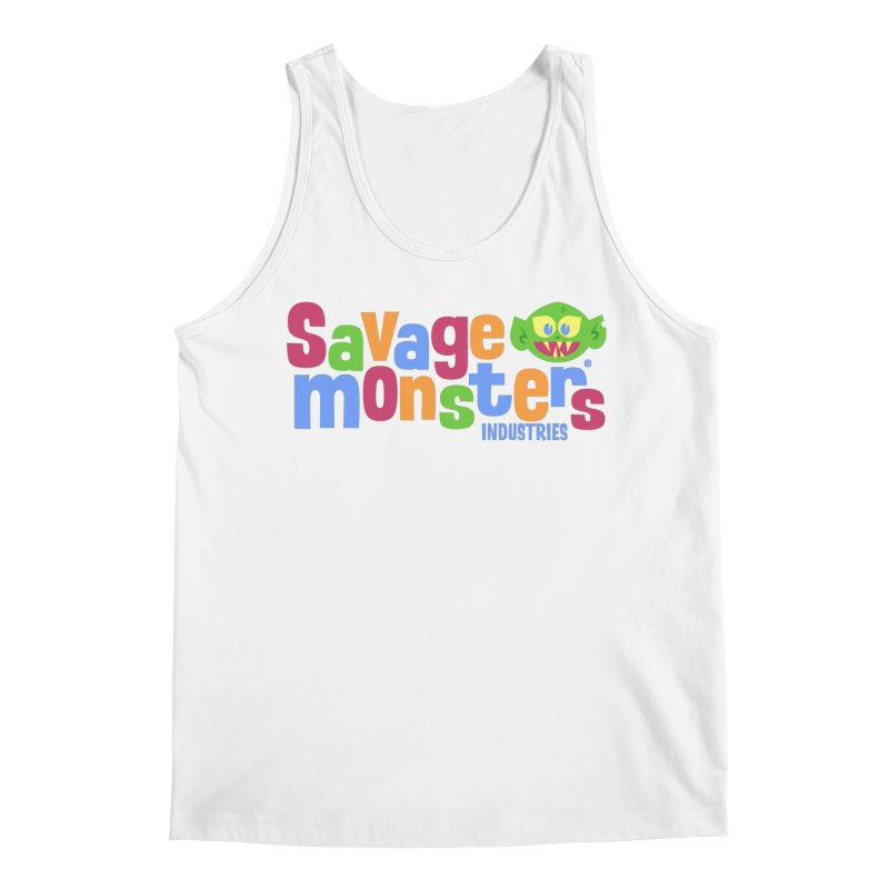 Savage Monsters Fun Logo Men's Regular Tank by SavageMonsters's Artist Shop