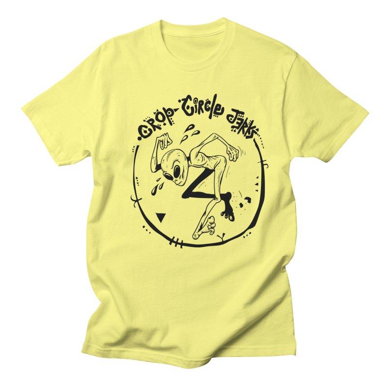 Crop Circle Jerks Men's T-Shirt by SavageMonsters's Artist Shop