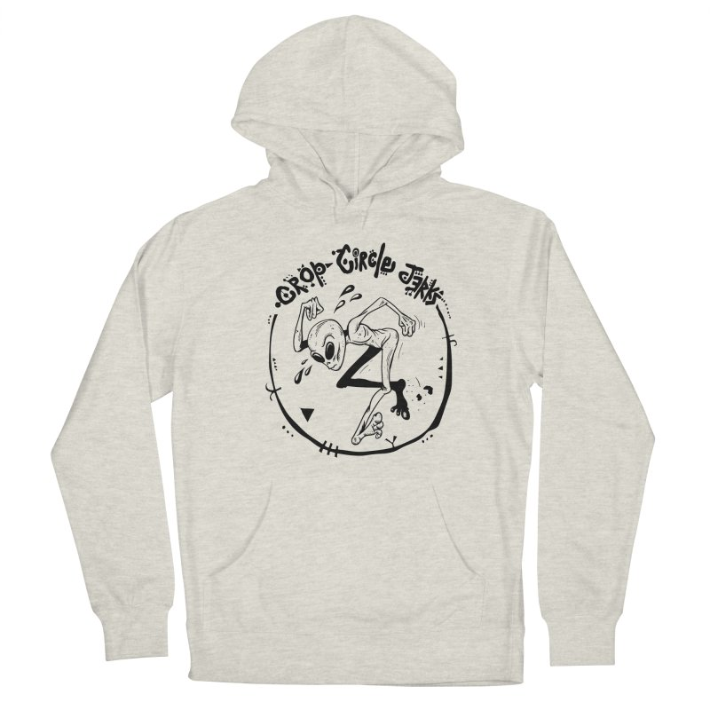 Crop Circle Jerks Men's French Terry Pullover Hoody by SavageMonsters's Artist Shop