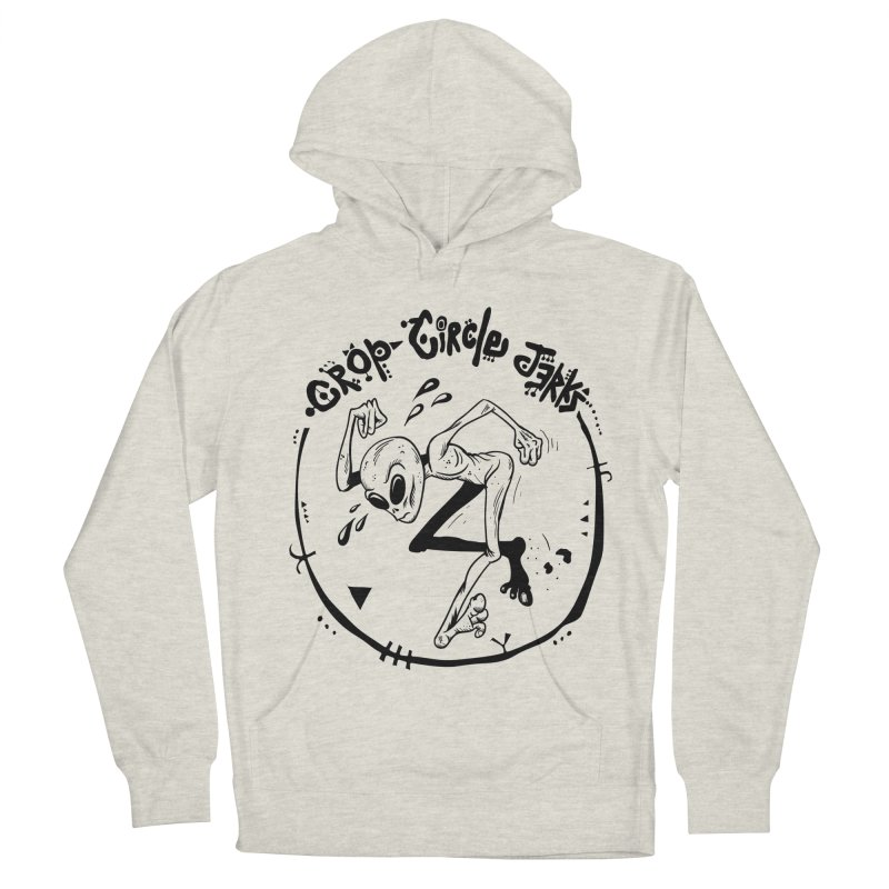 Crop Circle Jerks Women's French Terry Pullover Hoody by SavageMonsters's Artist Shop