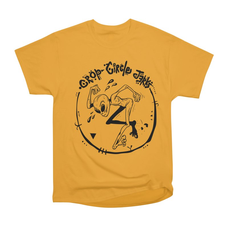 Crop Circle Jerks Men's Heavyweight T-Shirt by SavageMonsters's Artist Shop