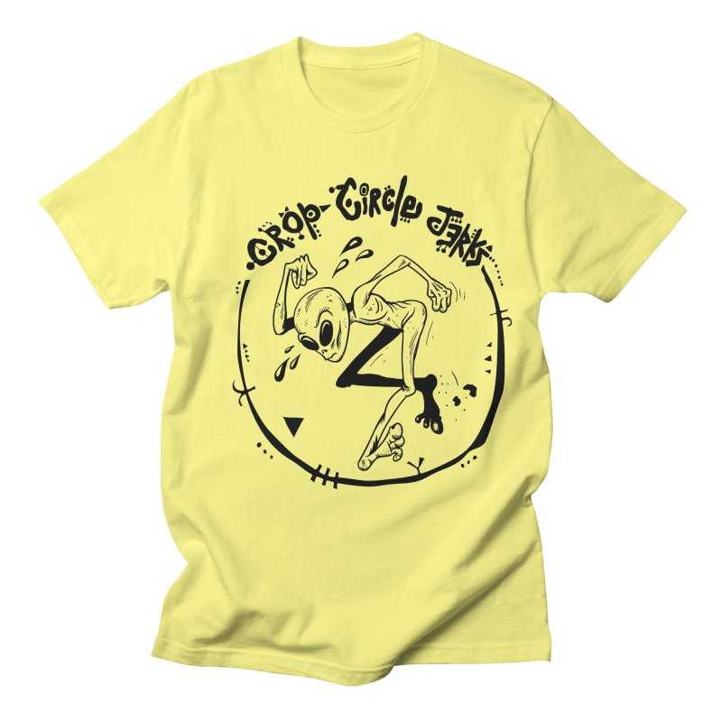 Crop Circle Jerks Men's Regular T-Shirt by SavageMonsters's Artist Shop