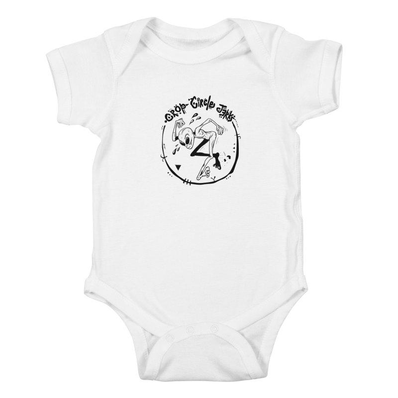 Crop Circle Jerks Kids Baby Bodysuit by SavageMonsters's Artist Shop