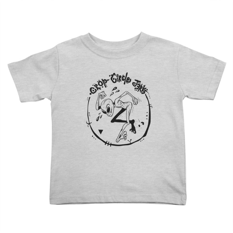 Crop Circle Jerks Kids Toddler T-Shirt by SavageMonsters's Artist Shop