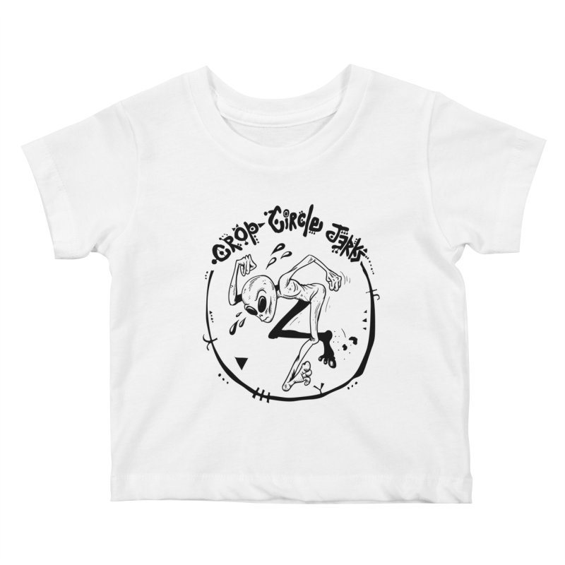 Crop Circle Jerks Kids Baby T-Shirt by SavageMonsters's Artist Shop