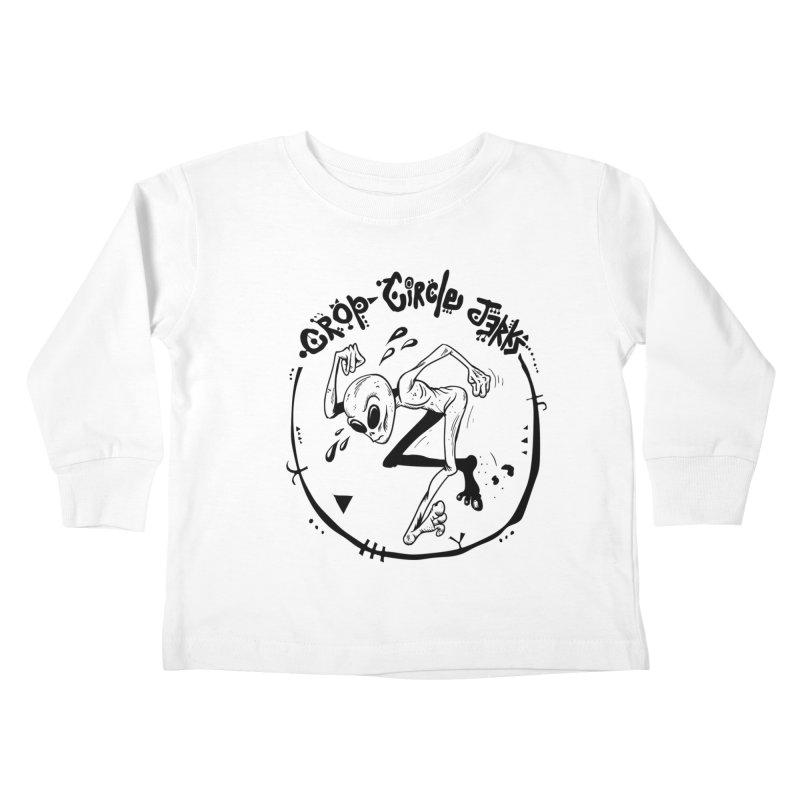 Crop Circle Jerks Kids Toddler Longsleeve T-Shirt by SavageMonsters's Artist Shop