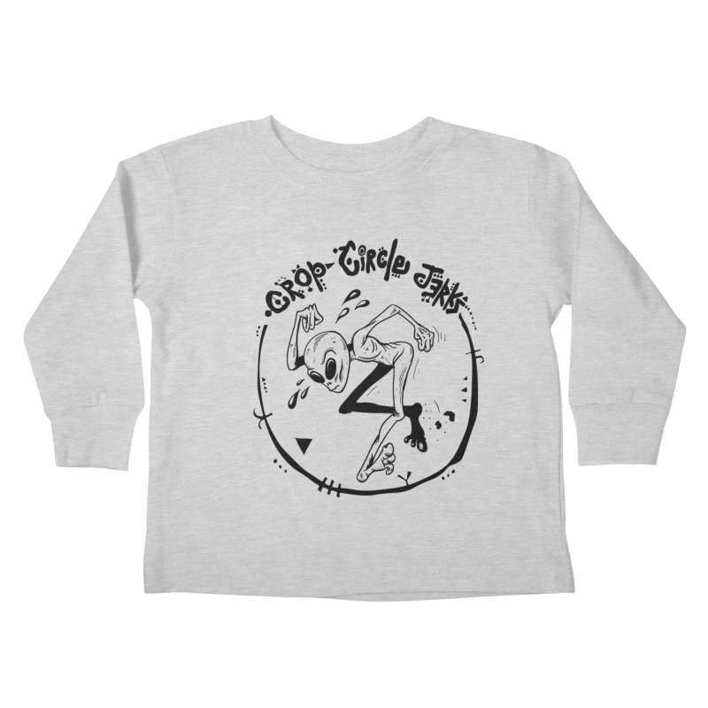Crop Circle Jerks Kids Toddler Longsleeve T-Shirt by SavageMonsters's Artist Shop
