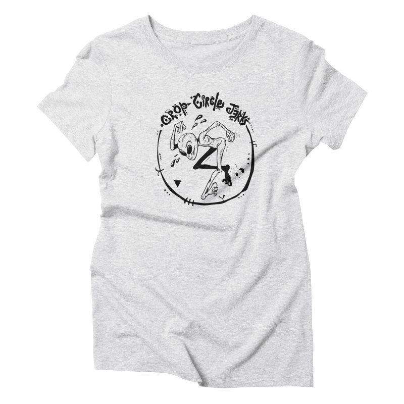 Crop Circle Jerks Women's T-Shirt by SavageMonsters's Artist Shop