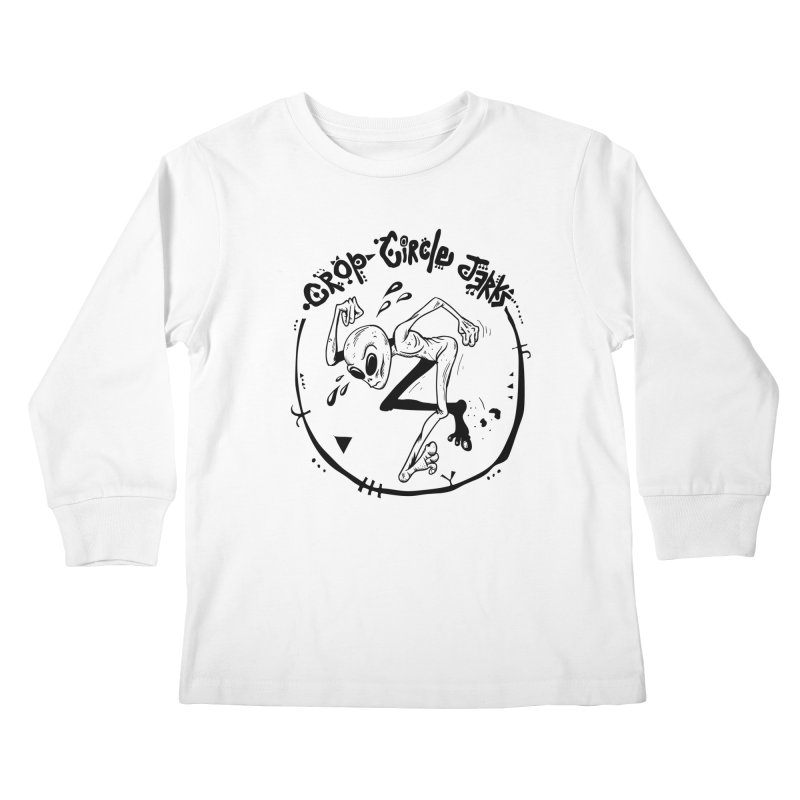 Crop Circle Jerks Kids Longsleeve T-Shirt by SavageMonsters's Artist Shop
