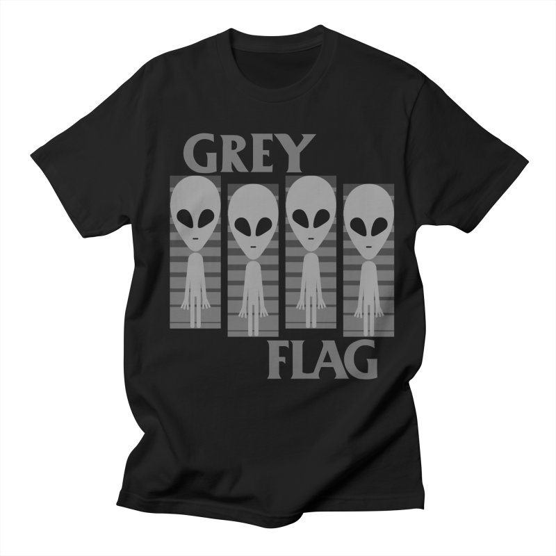 GREY FLAG Women's Unisex T-Shirt by SavageMonsters's Artist Shop