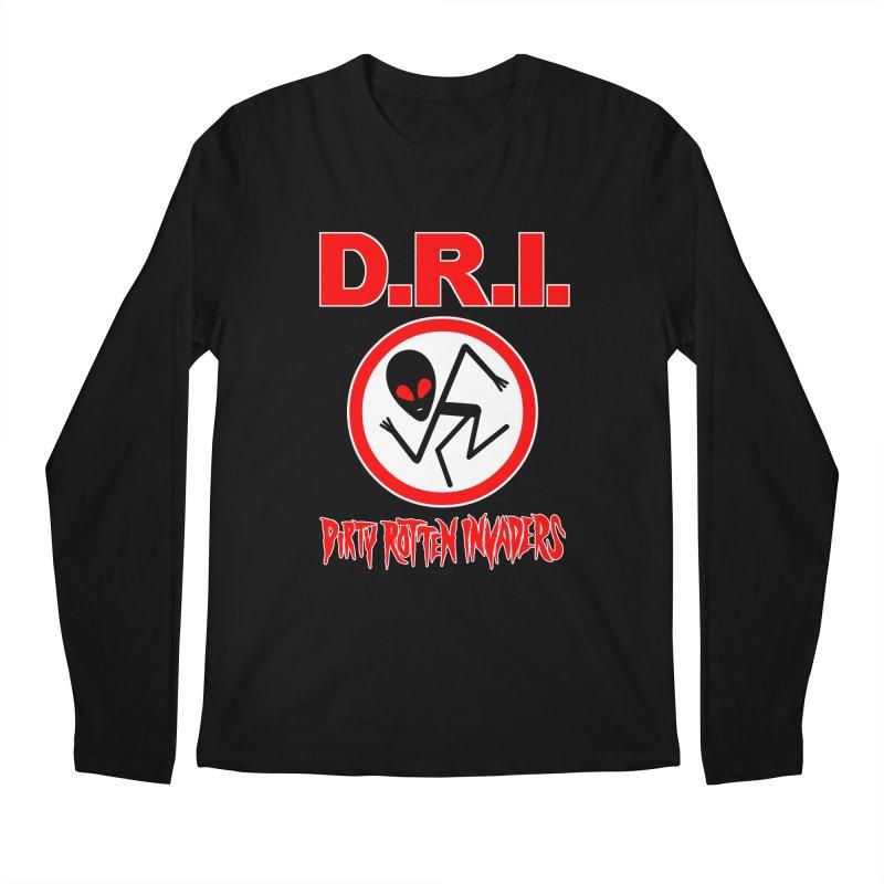 Dirty Rotten Invaders Men's Longsleeve T-Shirt by SavageMonsters's Artist Shop