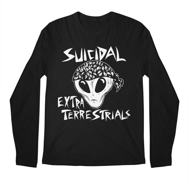Suicidal Extra Terrestrials Men's Longsleeve T-Shirt by SavageMonsters's Artist Shop