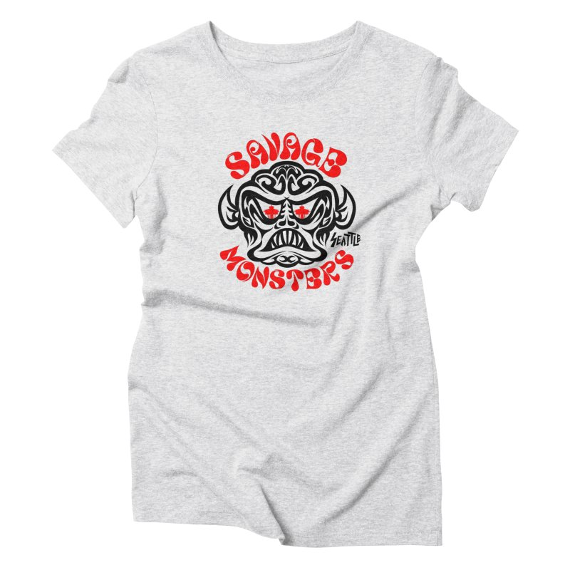 Savage Monsters Seattle Chapter Women's T-Shirt by SavageMonsters's Artist Shop
