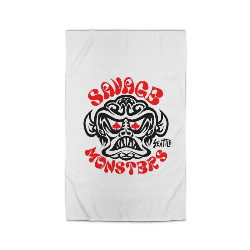 Savage Monsters Seattle Chapter Home Rug by SavageMonsters's Artist Shop