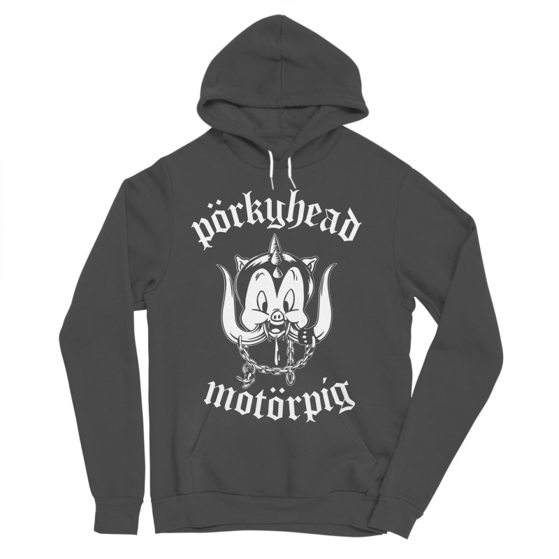 Pörkyhead Motörpig Women's Sponge Fleece Pullover Hoody by SavageMonsters's Artist Shop