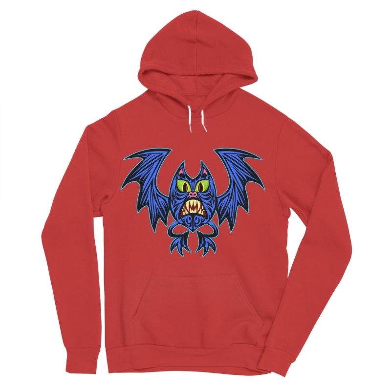 Screaming Bat Women's Pullover Hoody by SavageMonsters's Artist Shop