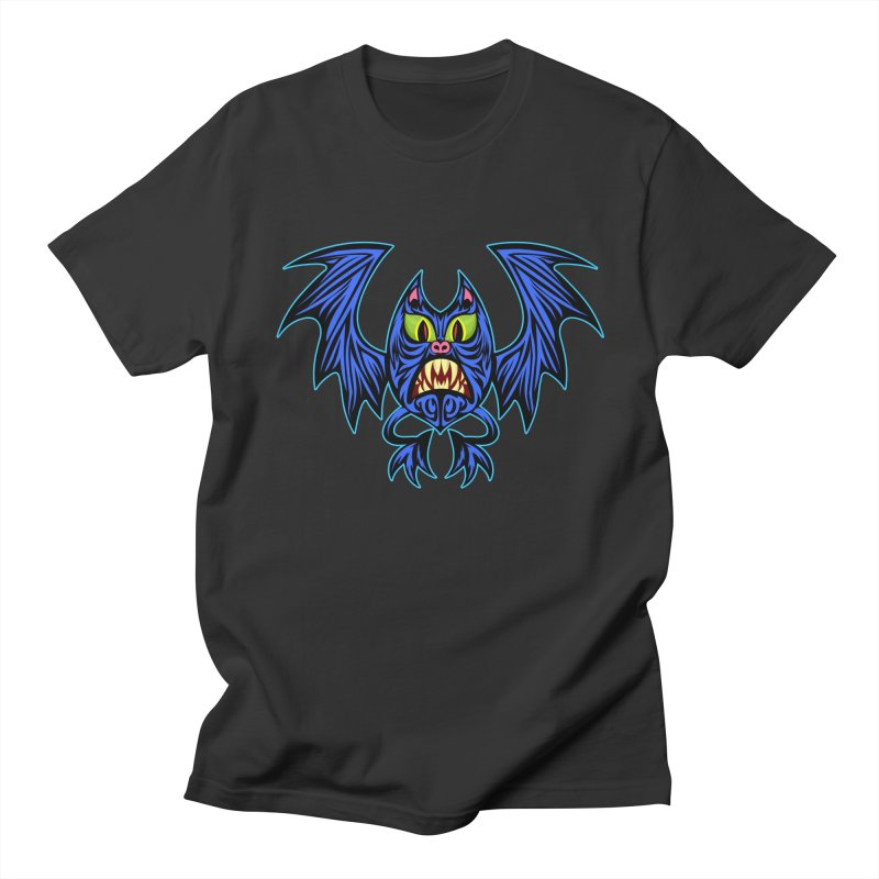 Screaming Bat Men's Regular T-Shirt by SavageMonsters's Artist Shop