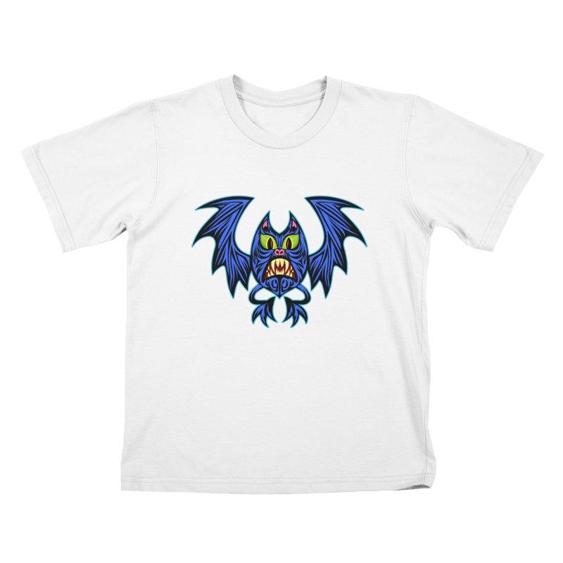 Screaming Bat Kids T-Shirt by SavageMonsters's Artist Shop