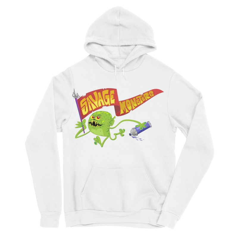 Clarence with Banner Women's Pullover Hoody by SavageMonsters's Artist Shop