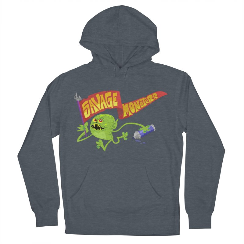 Clarence with Banner Women's French Terry Pullover Hoody by SavageMonsters's Artist Shop