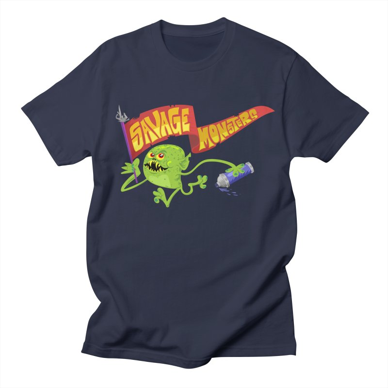 Clarence with Banner Men's Regular T-Shirt by SavageMonsters's Artist Shop