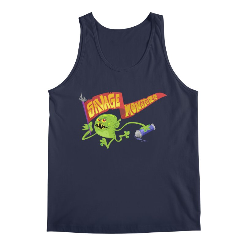 Clarence with Banner Men's Regular Tank by SavageMonsters's Artist Shop